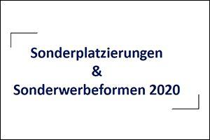 Sonderplatzierungen & Sonderwerbeformen 2020 (PDF)